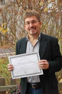 Verdienstmedaille Christoph Hoffmann