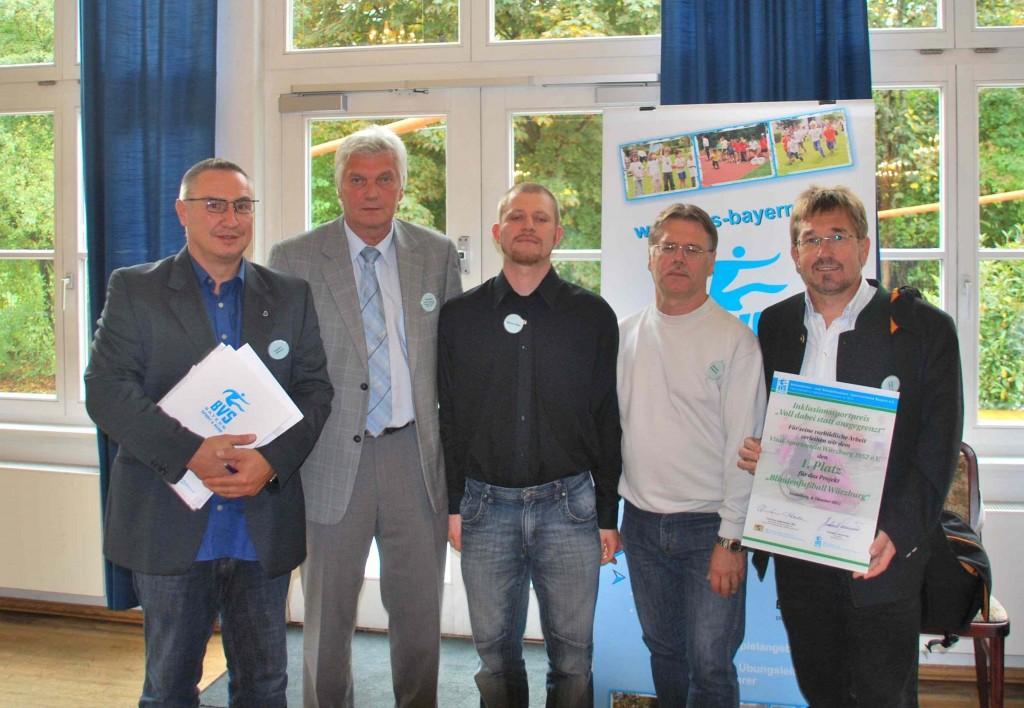 VSV Würzburg erhält Inklusionspreis