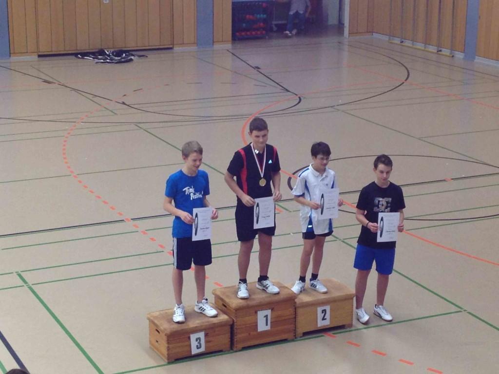 Badminton 2. Rangliste
