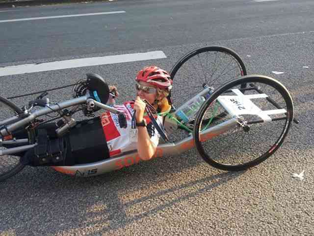 Handbike Dämmer Marathon