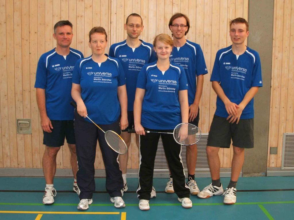 Badminton 1. Mannschaft VSV Würzburg