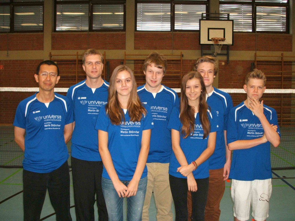 Badminton 2. Mannschaft VSV Würzburg
