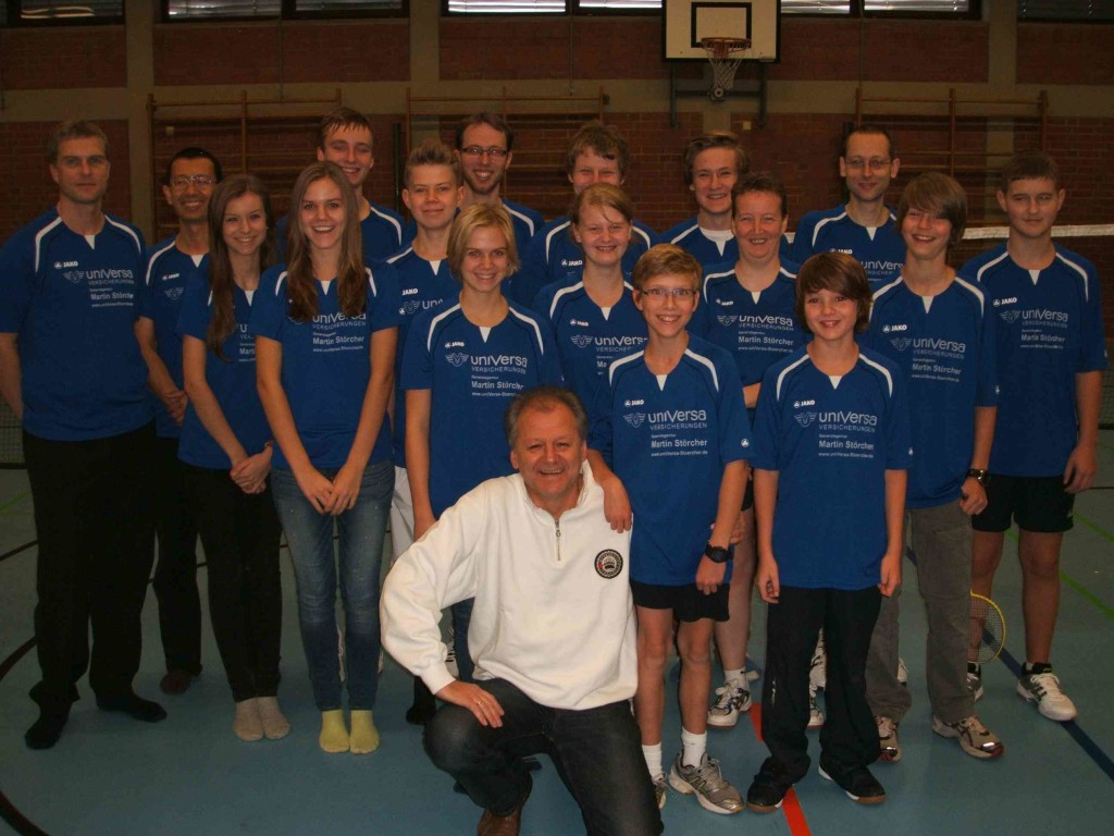 Badmintonabteilung VSV Würzburg und Bernd
