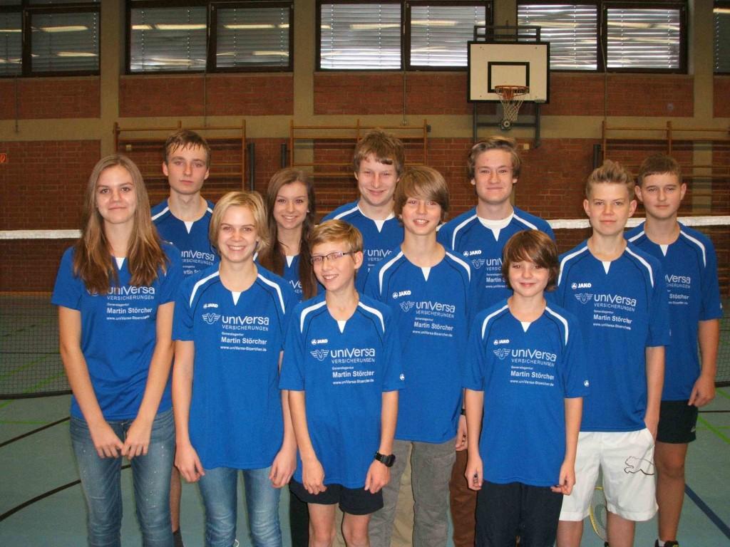 Badmintonjugend VSV Würzburg