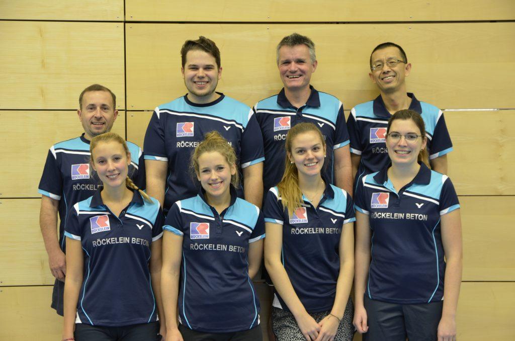 Badmintonabteilung VSV Würzburg 1. Mannschaft