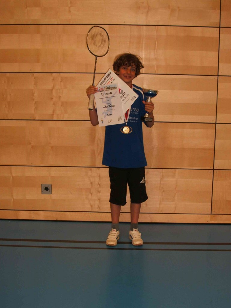 Badminton Koordinationsturniere 2013